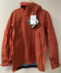 Rab Kangri Gtx Jacket Menandrsquos Size Large Red Clay New With Tags Goretex