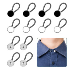 12pcs, Collar Extenders, Comfy Premium Invisible Extender Neck, Adds 1 In Inst