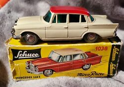 Shuco Micro-racers, Germany 1038 Mercedes 220 S 1/45th Scale
