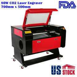 20 X 28 Co2 Laser Engraver Equipped With 80w Co2 Laser Tube-us Stock