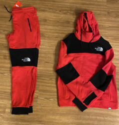 The Sweatsuit New Mens Size Large Red/black