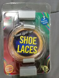 Neon Light Up Shoe Laces Red And Green  37