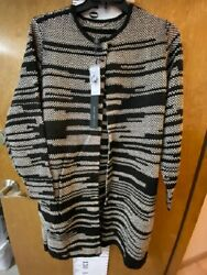 Chicoand039s Black Label Textured Sweater Topper - Size 3
