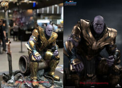 Queen Studios Avengers Thanos 1/4 Scale Whole-length Resin Statue Deluxe Ver.