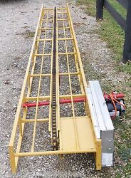 New 20 Ft Square Hay Bale Elevator With Motor Free 1000 Mile Delivery From Ky