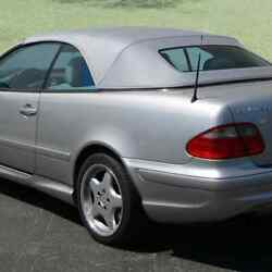Mercedes Clk 208 1998-2003 Replacement Convertible Soft Top With Glass Window