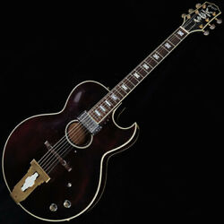 Greco Hr-680 Wine Red 1978 Howard Roberts Signature Model Free Shipping By Fedex