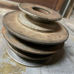 Sears Suburban Ss/12 Tractor Tecumseh Hh120 12hp Engine Pulley