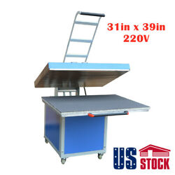 Usa-31 X 39 Large Format Heat Press Machine Clamshell Textile Thermo Transfer