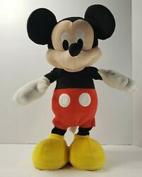 Disney Just Play Mickey Mouse Hot Diggity Dancing Interactive Toy Plush Stuffed