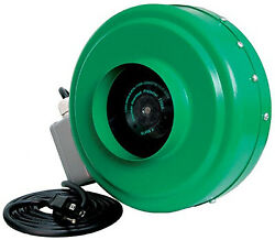 Active Air Acdf6 Active Air Hydroponic In-line Duct Fan, 6-in. - Quantity 1