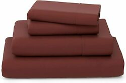 Cosy House Collection Luxury Bamboo Bed Sheet Set - Bedding Blend From Natural B