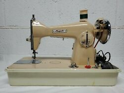 Vintage Working Majestic Deluxe Model Precision Sewing Machine Hd Japan