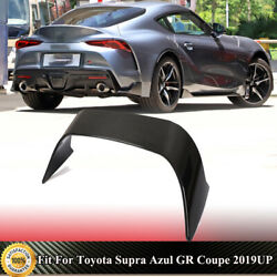 For Toyota Supra Azul Gr Coupe 19-21 Rear Trunk Spoiler Race Wing Lip Dry Carbon