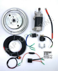 Electrical Start Conversion Kit For Yamaha 2 Stroke 60hp Outboard Model E60h