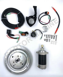 Electrical Start Conversion Kit For Yamaha 2 Stroke 30hp Outboard, Model 61t