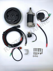 Electrical Start Conversion Kit For Yamaha 4 Stroke 20hp Outboard Model 6ah.