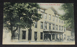 Michigan Plainwell Lawrence House Mich Allegan Mi Posted 1911 Vintage Postcard