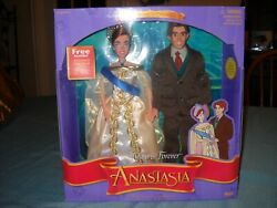 Galoob Always And Forever Anastasia And Demitri Doll Set W/ Storybook- New