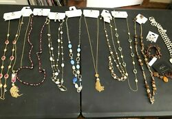 17 Nwt Necklace/earrings And Bracelet Lot - Charming Charlies, Cato And Dry Gultch