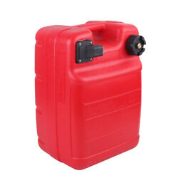 Portable 6 Gallon Plastic Outboard Boat Motor External Fuel Gas Tank Anti-aging