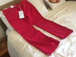 """Ladies Dream Jeans By Mac Size 14 Waist 34""""andleg27"""" Pink Stretchy Bnwt"""