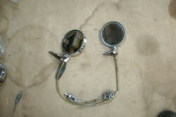 1966-72 Chrysler Dodge Charger Plymouth A/b Body Exterior Remote Mirrors Pair