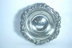Sterling Silver And Co. Bowl 9 Clover Pattern Delta Chapter Sorority 1907