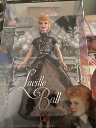 Lucille Ball Legendary Lady Of Comedy 08 Barbie Doll . New In Boxand Jigsaw Puzzle
