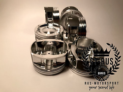 Forged Pistons For M54b30 Turbo Engine. Cr 8.2 1 Made For Motorsport. Gt-rus