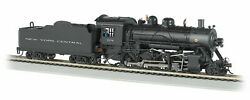 Bachmann 51354 N Scale New York Central 1156 2-8-0 -consolidation Dcc And Sound
