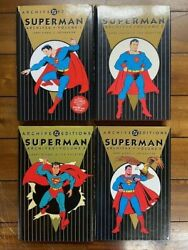 Entire Collection Superman The Man Of Tomorrow Archives