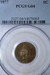 1877 1c G4 G4 And G6 3 Coins All Pcgs