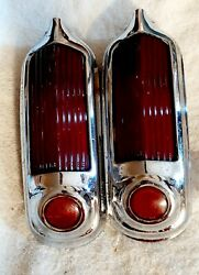 1949 1950 Oldsmobile 76 88 Tail Light Assembly Rh-lh Pair Guide R 38 B 20