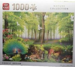 King55980 - Jigsaw Puzzle Dream Castle Doll House Gift Forest – 1000 Parts