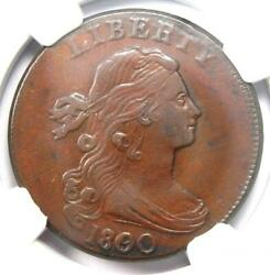 1800/79 Draped Bust Large Cent 1c - Certified Ngc Au Details - Rare Coin In Au