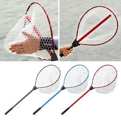 Floating Fishing Net Collapsible Telescopic Pole Fishing Tools Pool Skimmer