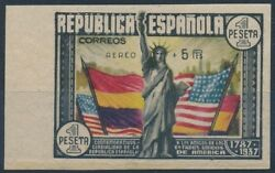 Spain - Mailing Year 1938 - Number 00765s - Pretty Stamp No Perforated/trim