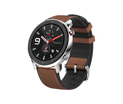 Smartwatch Amazfit Gtr 47 Mm Stainless Steel Amoled-display Neu And Ovp