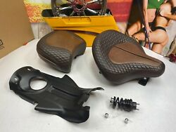 🔥genuine Harley / Mustang 09-20 Touring Rare Police Solo And Pillion Seat🔥