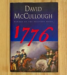 1776 By David Mccullough Hc/dj First Edition Signed By Author Like New