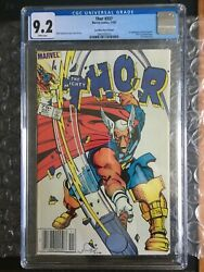 Thor 337 Cgc 9.2 1st App Of Beta Ray Bill Canadian Price Variantandnbsp75andcent Newsstand