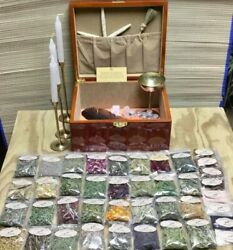 Huge Witch Kit Herbs Witchcraft Spells Pagan Altar Naturopath Magic Wicca