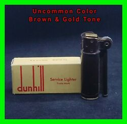 Unfired Dunhill Vintage Service Cigarette Lighter With Original Box Mint Cond.