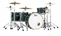 Pearl Music City Custom Reference Pure 26x18 Bass Drum W/ Mount Matte Black Oyst