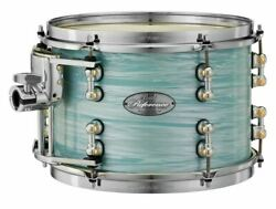 Pearl Music City Custom 14x12 Reference Pure Tom Drum Ice Blue Oyster Rfp1412t/c