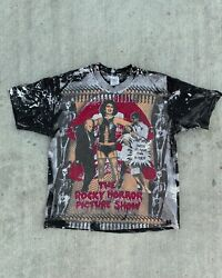 1990s Vintage Mosquitohead T Shirt The Rocky Horror Picture Show Rare Xl 90s Aop