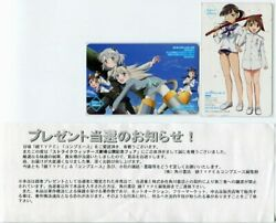 Campaign Strike Witches Theatrical Release Commemorative Fair 2-disc Book Token