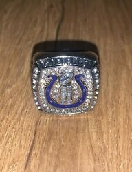 Indianapolis Colts 2006 Championship Replica Eli Manning Super Bowl Ring Size 11