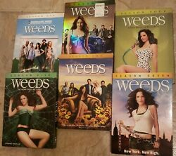 Weeds Complete Seasons 12456 And 7 Dvd Set
